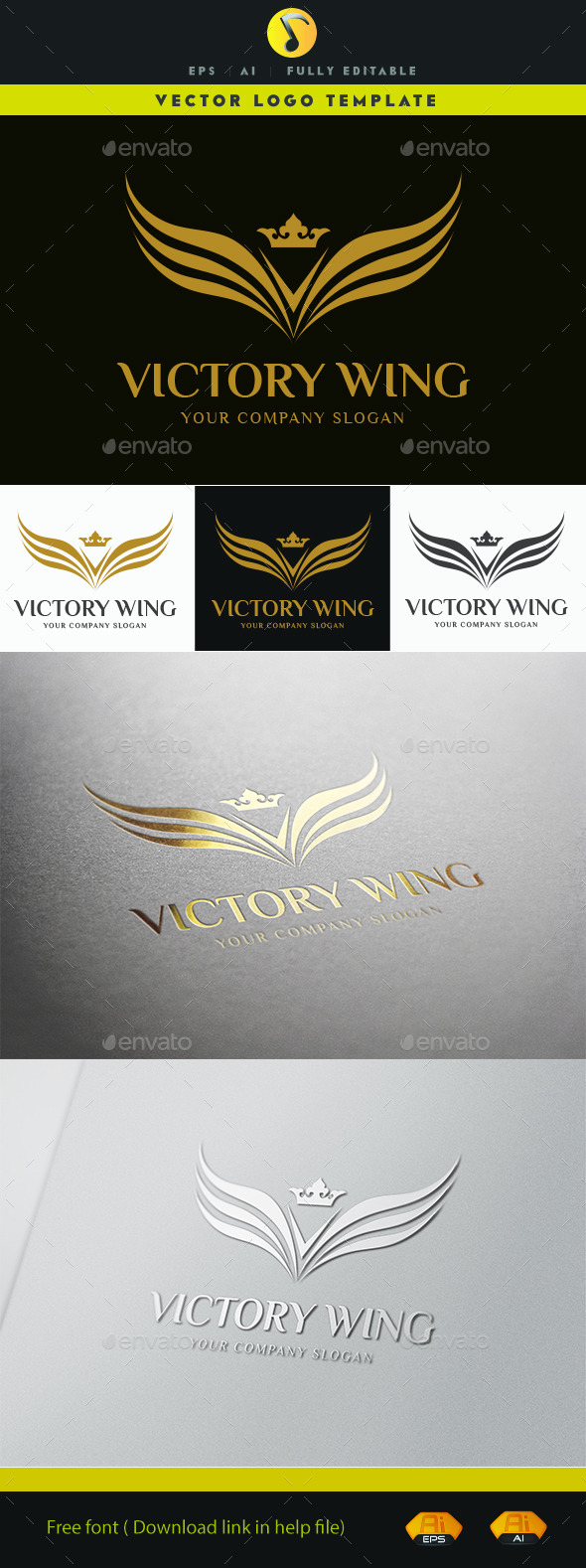 GraphicRiver Victory Wing 11489618
