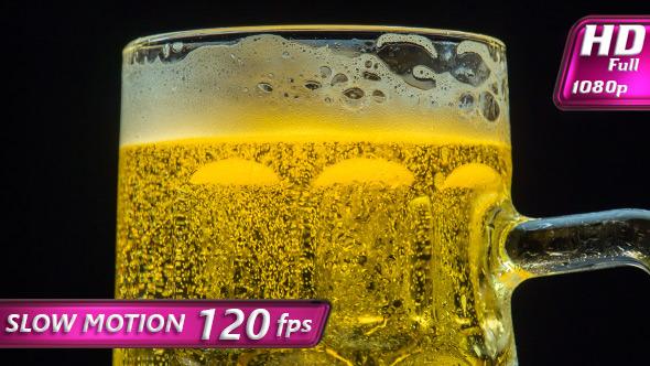 VideoHive Foaming Beer in a Mug 11489765