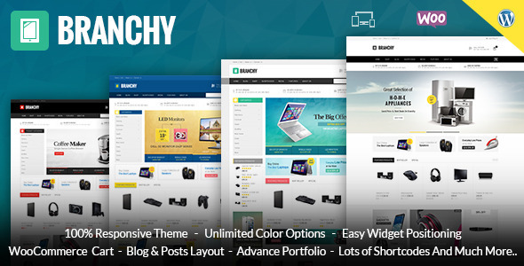 Branchy - WooCommerce Responsive Theme