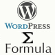 Wordpress Formula Editor Plugin