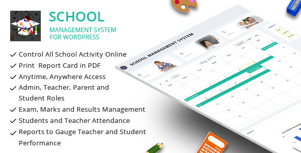 CodeCanyon School Management System for Wordpress 11470032