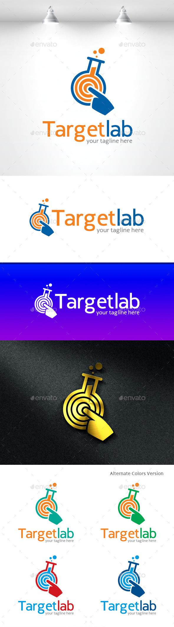 GraphicRiver Target Lab Logo 11490307