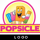 Popsicle Logo - GraphicRiver Item for Sale