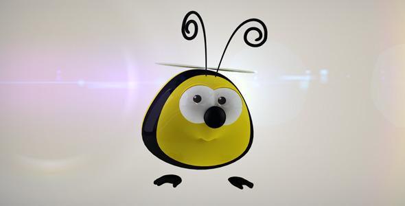 Funny Bee Logo Reveal