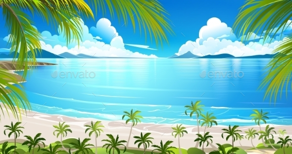 GraphicRiver Tropical Island 11490839