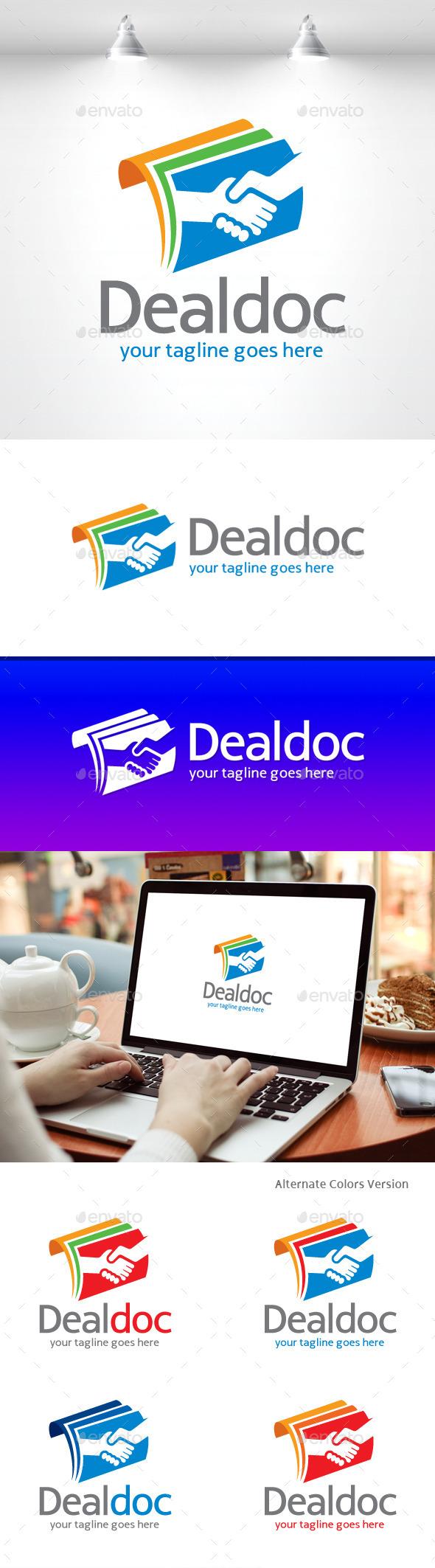 GraphicRiver Deal Doc Logo 11490860