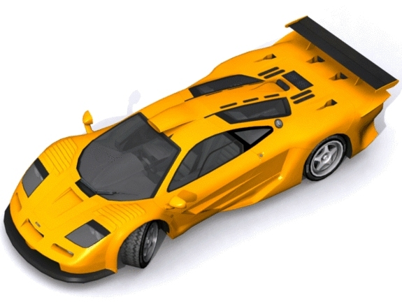 McLaren F1 GT Longtail - 3DOcean Item for Sale