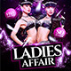 Ladies Affair Flyer Template - GraphicRiver Item for Sale
