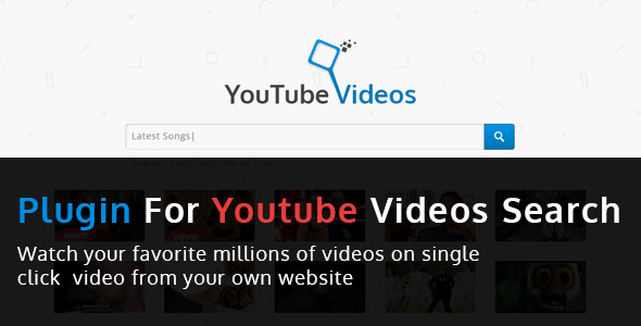 Youtube Video Search - CodeCanyon Item for Sale