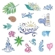 Colorful Sketch Style Summer Icons - GraphicRiver Item for Sale
