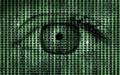 Matrix Binary Program Code with Human Eye  Background