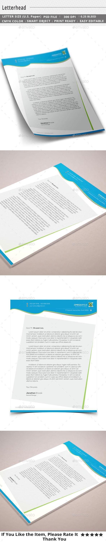 GraphicRiver Corporate Letterhead 11493163