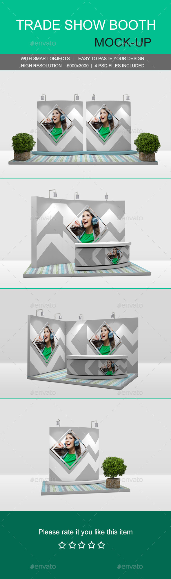 GraphicRiver Trade Show Booth Mockups 11493205