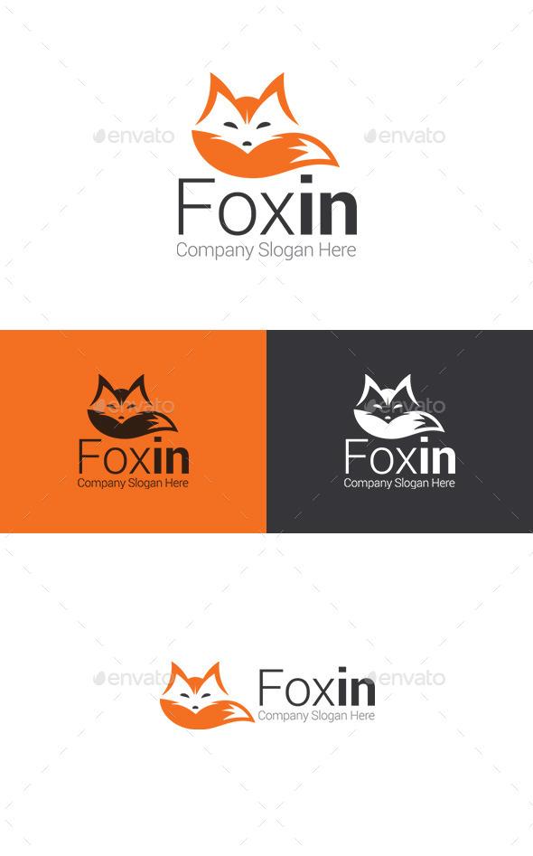 GraphicRiver Fox Logo 11493646