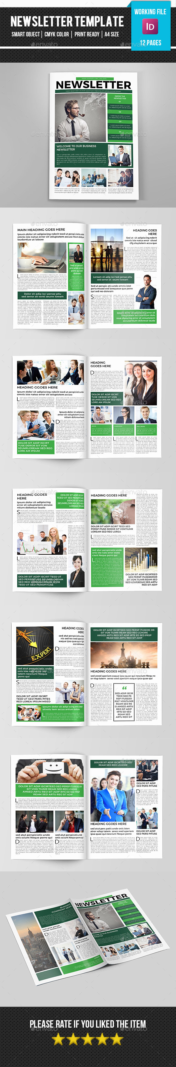 GraphicRiver Corporate Newsletter-V07 11493651