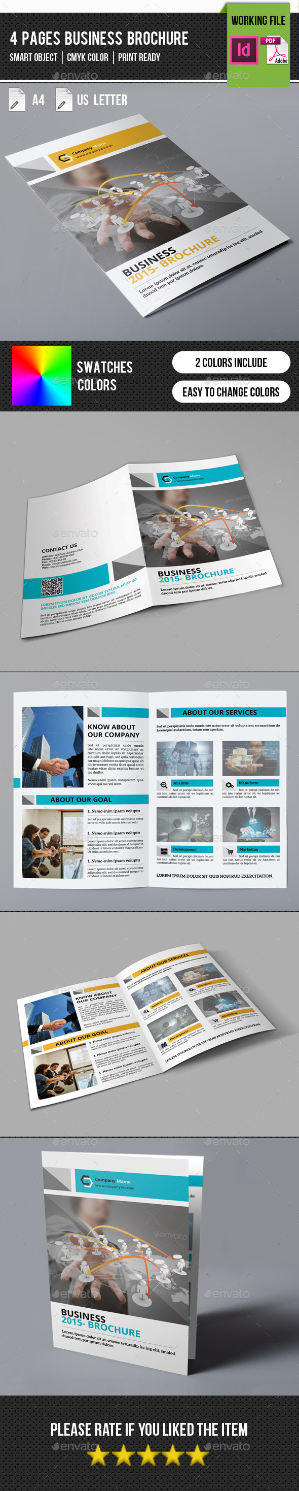 GraphicRiver Corporate Bifold Brochure-V248 11493668