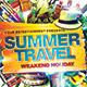 Summer Weakend Party Flyer - GraphicRiver Item for Sale