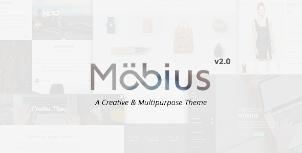 Mobius - Responsive Multi Purpose WordPress Theme