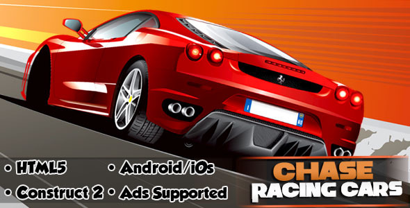 CodeCanyon Chase Racing Cars HTML5 Android CAPX 11493840