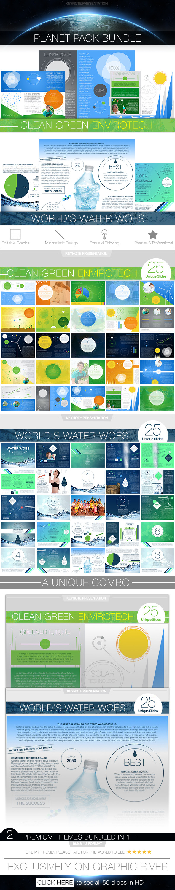 GraphicRiver Planet Pack Keynote Presentation Bundle 11451017