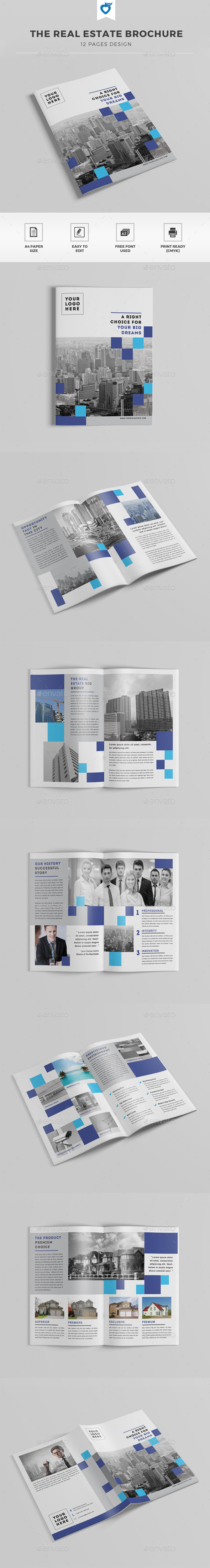 GraphicRiver The Real Estate Brochure 11493992