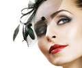 Woman's Face. Vintage Makeup. Retro Style - PhotoDune Item for Sale