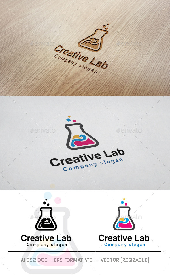 GraphicRiver Creative Lab Logo 11494161