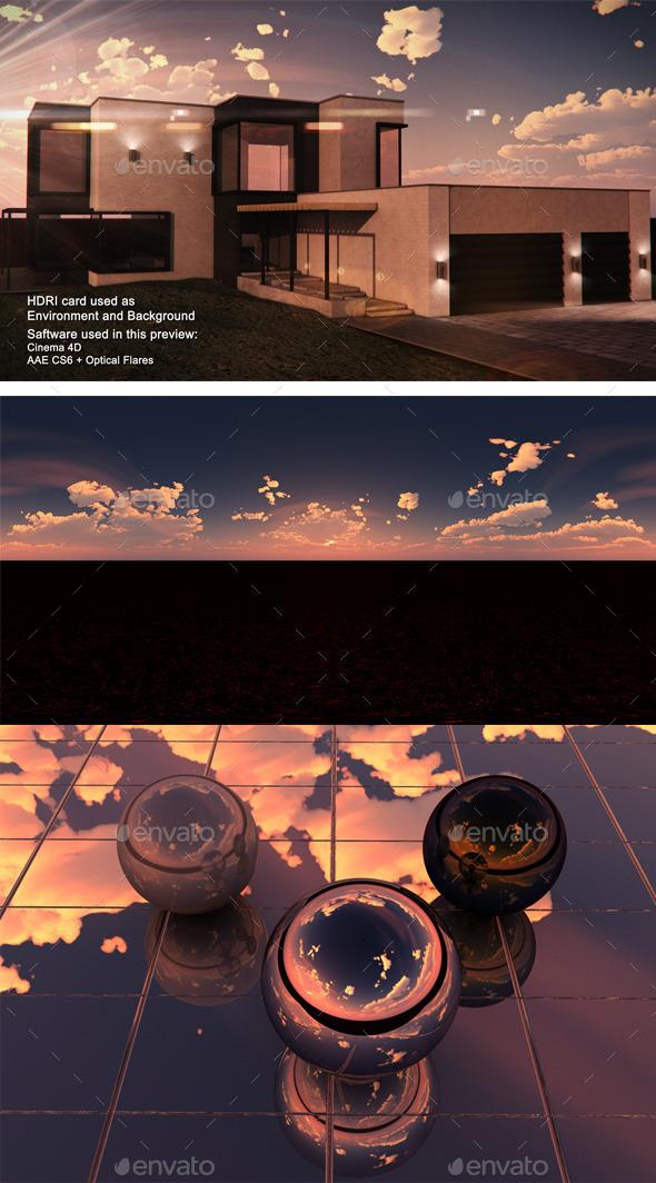 3DOcean Sunset Desert 19 11494169