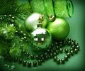Christmas Decoration. Green - PhotoDune Item for Sale