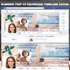 Summer Facebook Timeline Cover Bundle