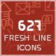 Fresh Line Icon Set - GraphicRiver Item for Sale