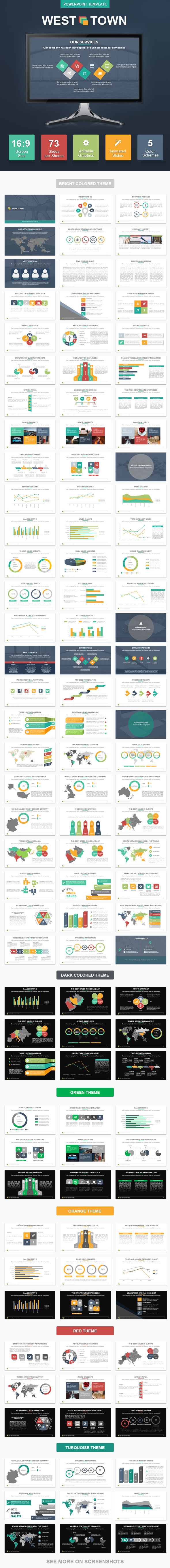 GraphicRiver WestTown PowerPoint Presentation Template 11494206