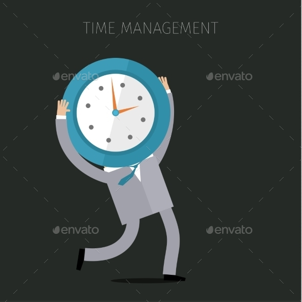 GraphicRiver Concept Of Effective Time Management 11494208
