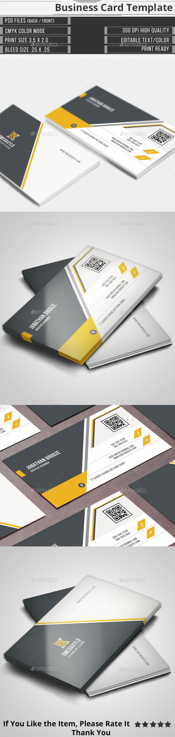GraphicRiver Corporate Business Card 11494263