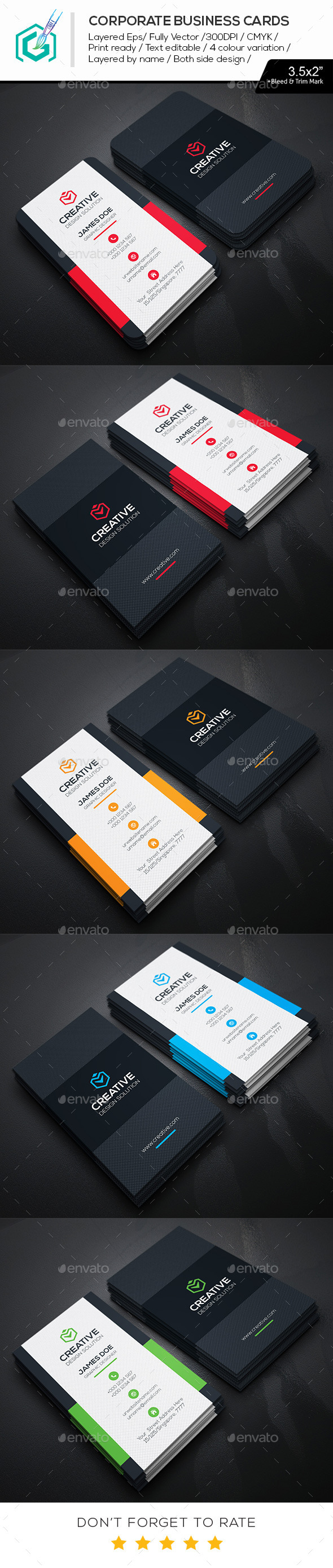 GraphicRiver Creative Business Cards 11494277