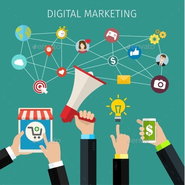 GraphicRiver Digital Marketing Concept 11494282