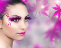 Beautiful Girl. Creative Fashion Makeup - PhotoDune Item for Sale
