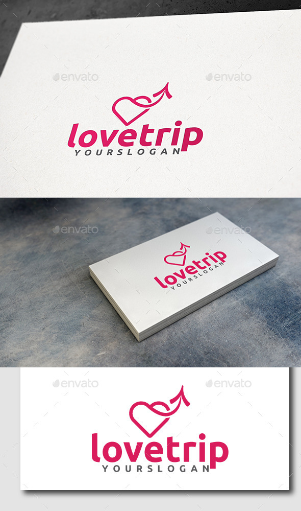 GraphicRiver Love Trip Logo 11494584