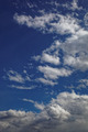 Blue sky with white cumulus clouds. - PhotoDune Item for Sale