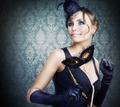 Retro Beauty. Celebrating. Masquerade - PhotoDune Item for Sale