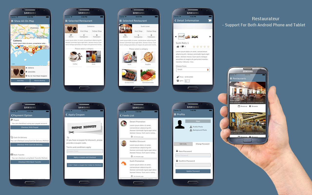 Restaurateur solution for any restaurants app by panacea