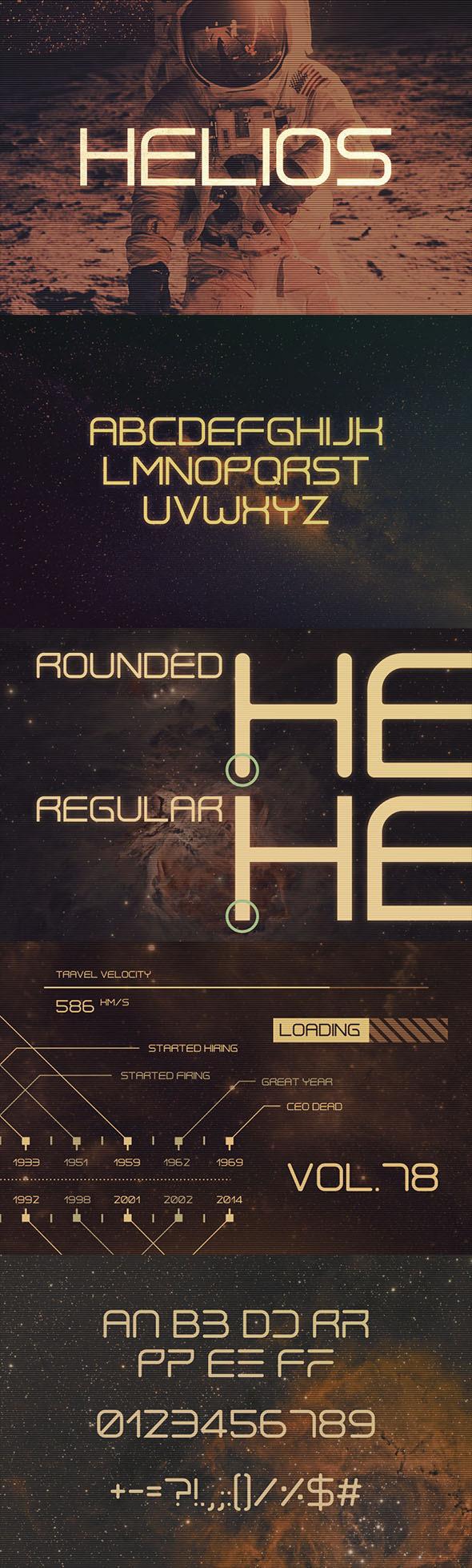 GraphicRiver Helios Typeface 11495796