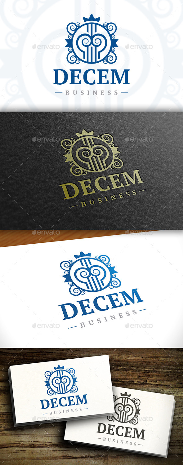 GraphicRiver Decorative Emblem Logo 11496620