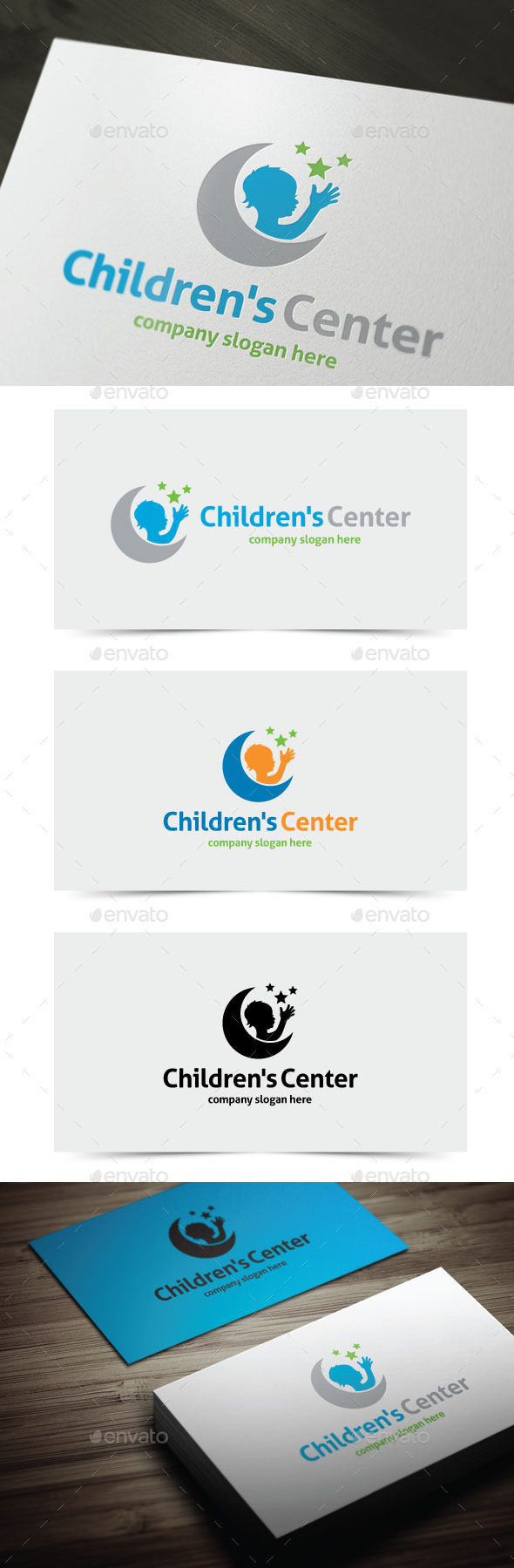 GraphicRiver Children s Center 11496681