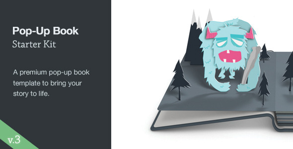 Pop-Up Book Starter Kit by ThomasKovar | VideoHive