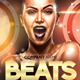 Beats Night Flyer Template - GraphicRiver Item for Sale