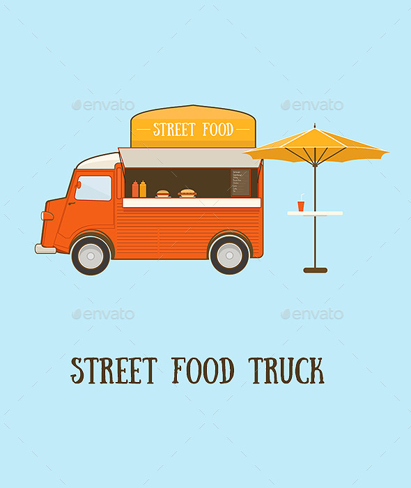 GraphicRiver Street Food Truck 11497661
