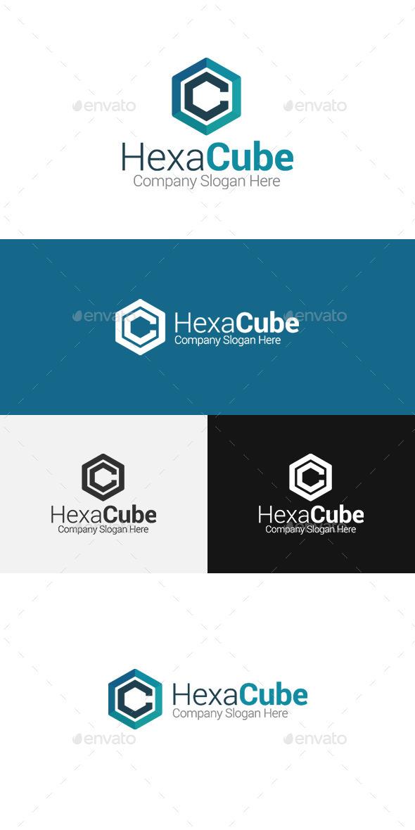 GraphicRiver Hexa Cube C LetterLogo 11497665