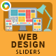 Web Design Sliders - 2 Designs - GraphicRiver Item for Sale