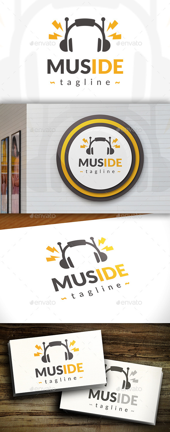 GraphicRiver Creative Music Logo 11498432